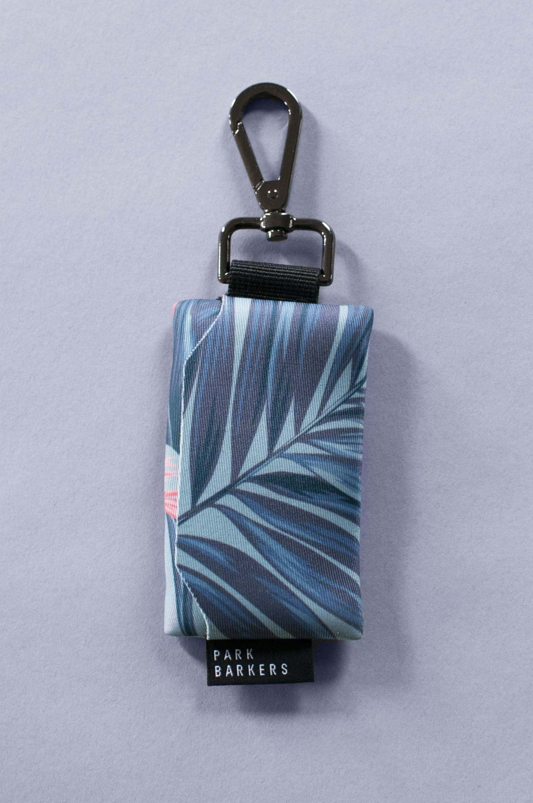 Tropical style waste bag holder from Park Barkers