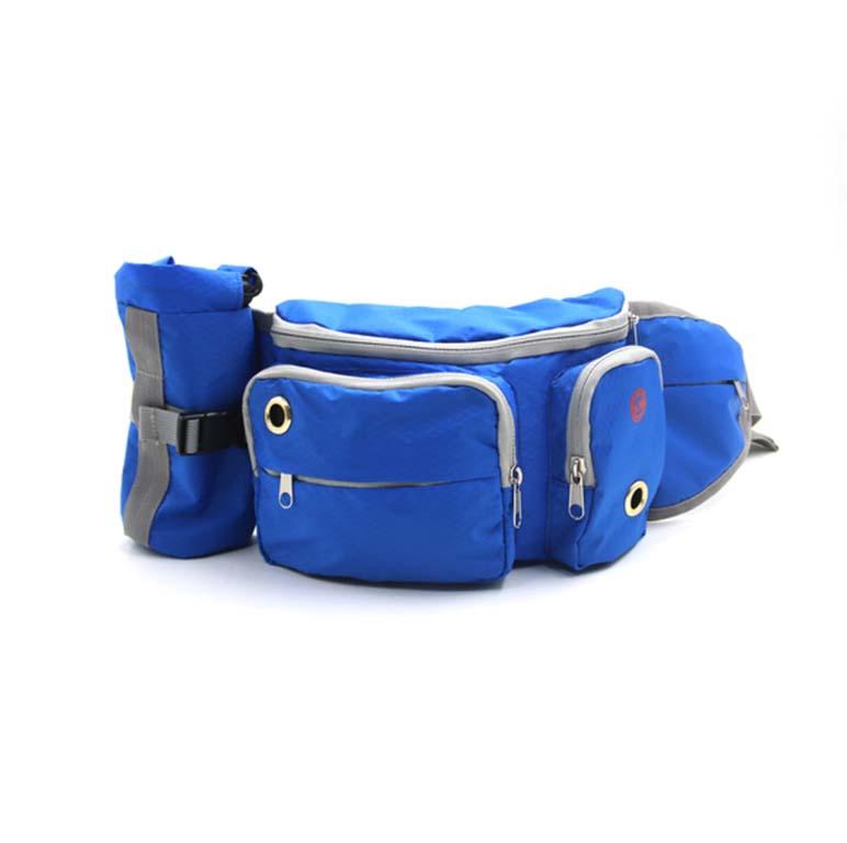 Blue dog training waist belt