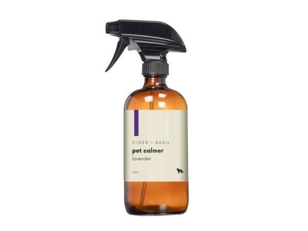 Dog calming spray with lavender for anxious dogs