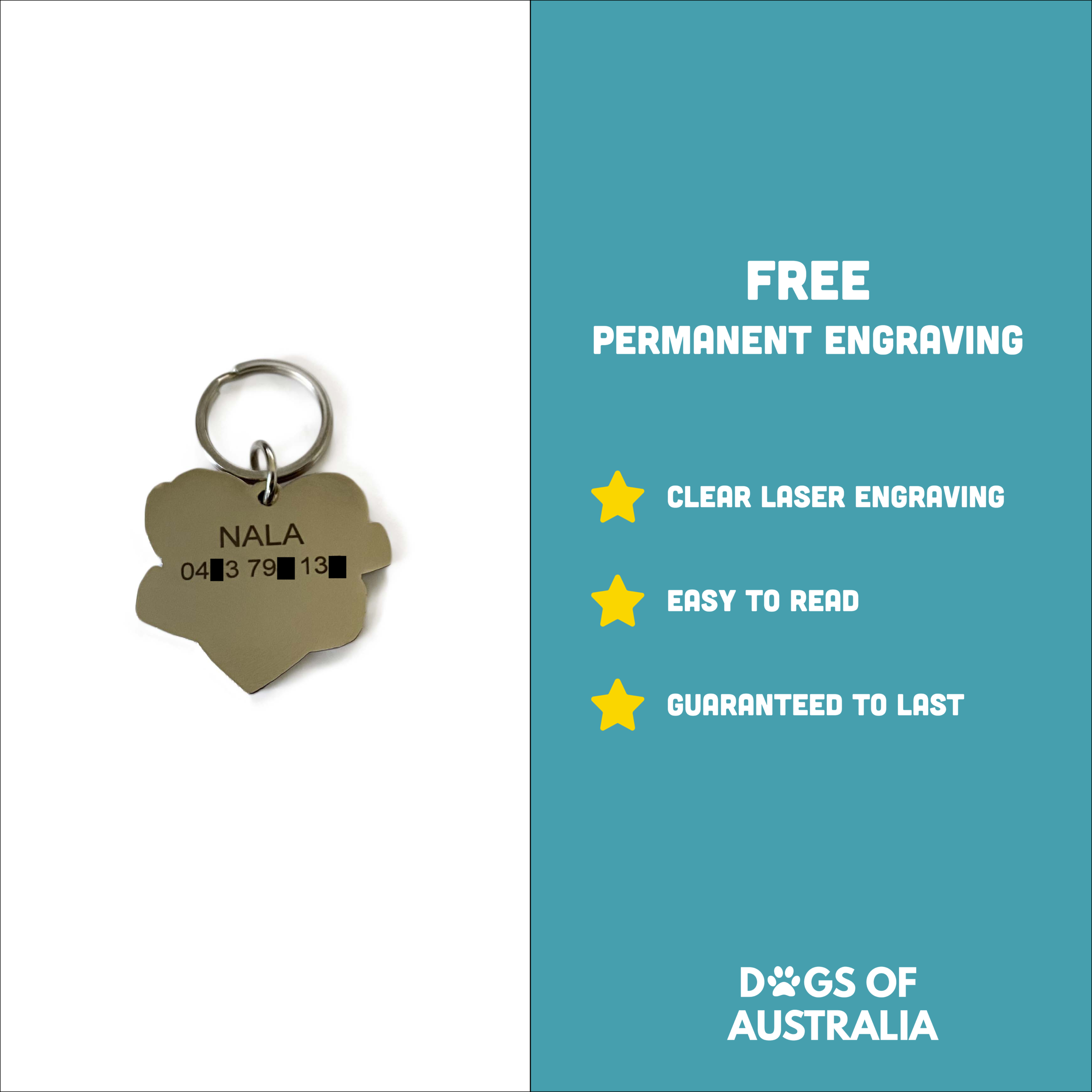 Explainer image about free laser engraving benefits
