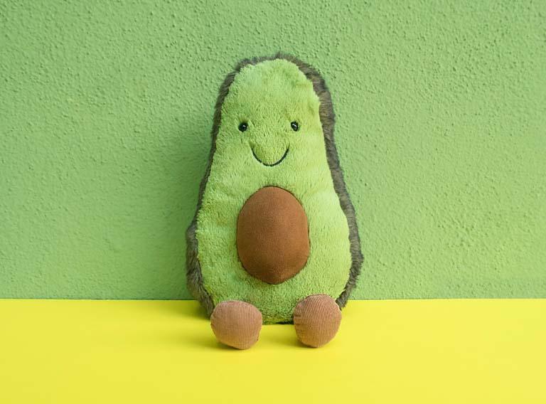Avocado Plush Toy